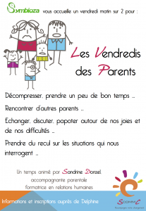 affiche vendredi des parents
