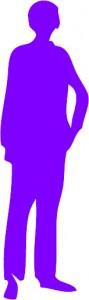 silhouette pro violette