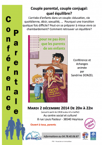 Affiche conference couple heyrieux