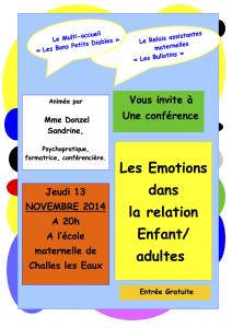 conférence emotions