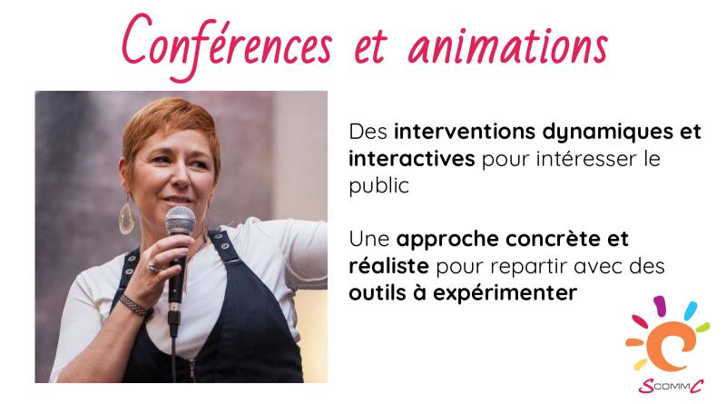 Conférences et animations