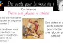 Conférence «une fratrie sans jalousie ni rivalités, c'est possible ?»