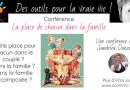 Conférence «la place de chacun dans la famille»