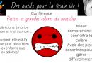 Conférence «Petites et grandes colères du quotidien»