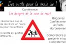 Conférence «les dangers de la cour de récré»