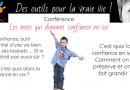 Conférence «les mots qui donnent confiance en soi»