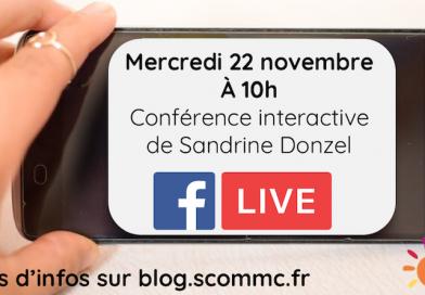 Facebook live – thème tiré au sort parmi vos questions – mercredi 22 novembre 2017