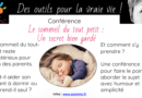 Conférence «Le sommeil du tout-petit, un secret bien gardé !»