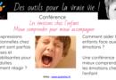 Conférence «les émotions des enfants : mieux comprendre pour mieux accompagner»