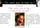 Conférence : pleurs, colères, crises de rage, … Les émotions des tous petits