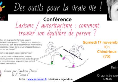 Conférence «Laxisme/autoritarisme : comment trouver son équilibre de parent ?»