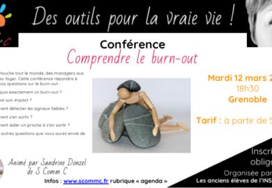 Temps d'échanges sur le burn-out – mardi 12 mars 2019 – Grenoble (Isère)