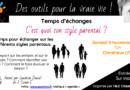 Temps d'échanges «c'est quoi ton style parental ?» – Chindrieux (Savoie)