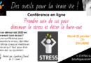 Conférence Prendre soin de soi et éviter le burn-out – En ligne