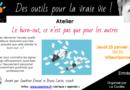 Atelier «Le burn-out ce n'est pas que pour les autres» – Lyon (Rhone)
