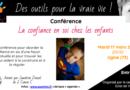 Conférence «La confiance en soi chez le petit enfant» – Ugine (Savoie)